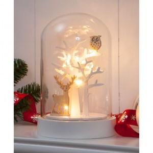 illuminated deer owl forest scene glass dome bell jar warm white leds p7400 29145 medium - illuminated-deer-owl-forest-scene-glass-dome-bell-jar-warm-white-leds-p7400-29145_medium
