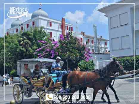 الرحلات السياحية في تركيا - جزيرة الاميرات