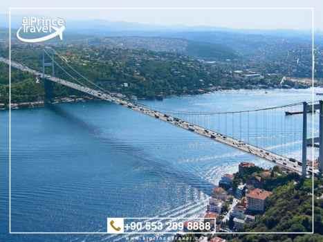 برنامج سياحي في اسطنبول لمدة 6 ايام - مضيق البوسفور
