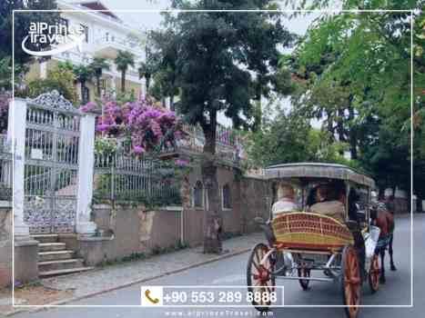 برنامج سياحي لتركيا لمدة 5 ايام ,اسطنبول - جزيرة الاميرات