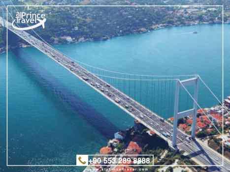 برنامج سياحي لتركيا لمدة 7 ايام - مضيق البوسفور