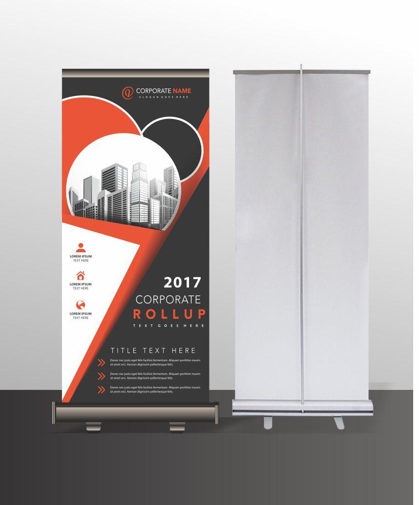 Floor Standing Banner Printing Design Banners Online