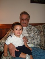 Uncle Frank w/ Grandson