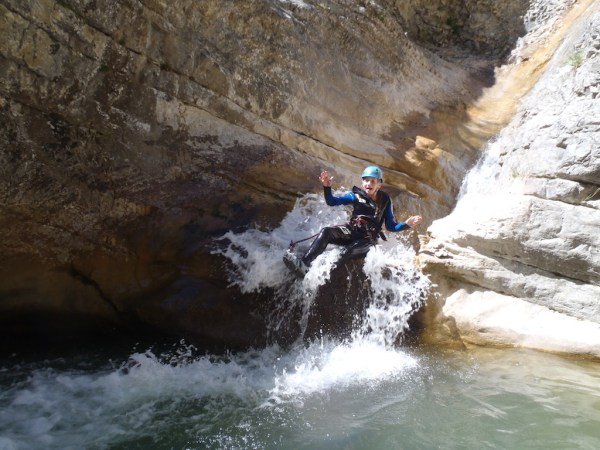 Canyoning in the Alps