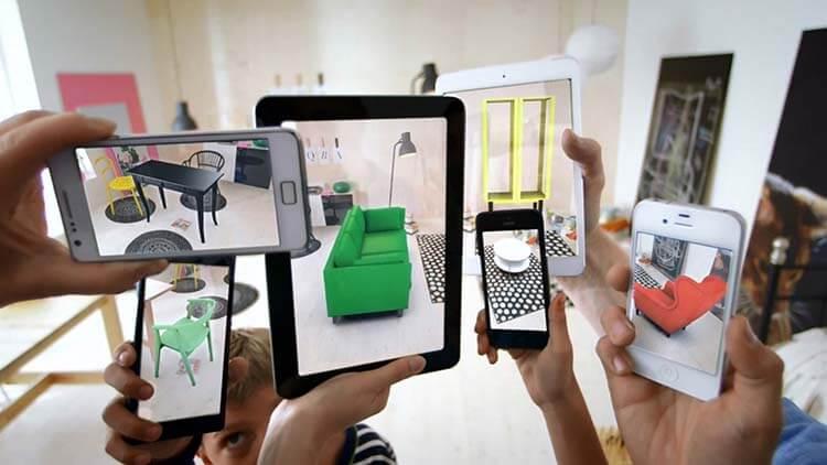 Artırılmış Gerçeklik teknolojisini kullanan IKEA Place uygulaması