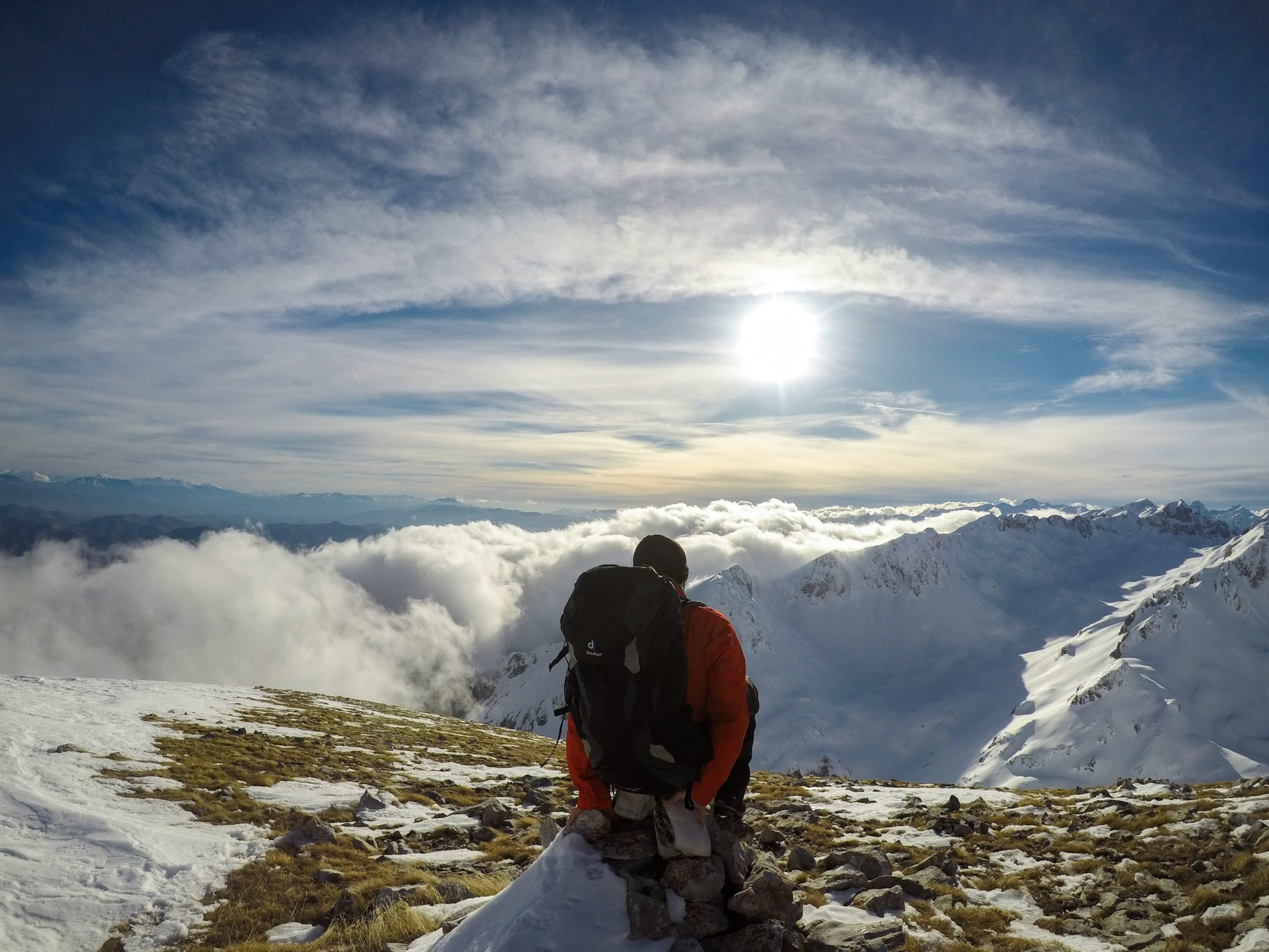 Shkelzen hiking Albania Tropoja