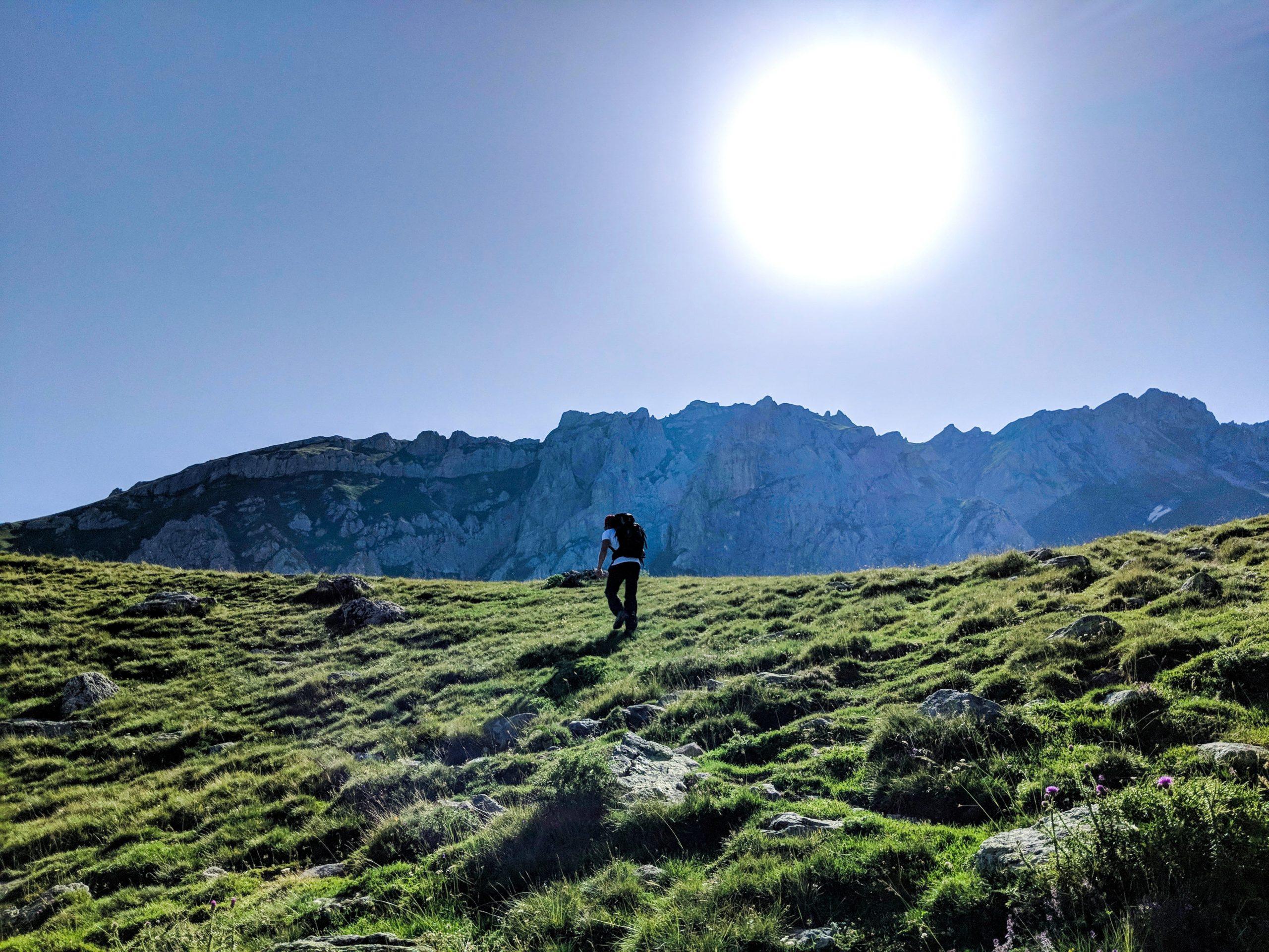 Highest Mountain Korab hiking Albania Macedonia