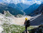 Maja e Boshit 2'416 m/alt, stunning views of three Valleys