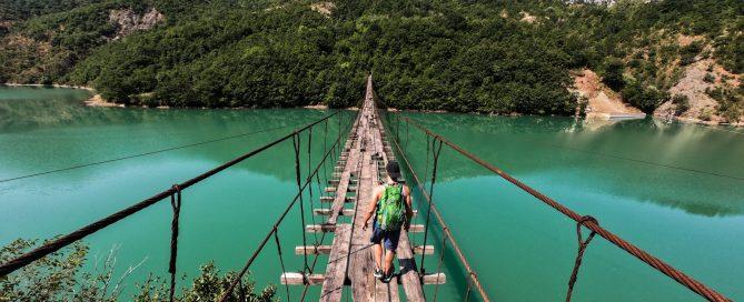 Shkopet lake Albania