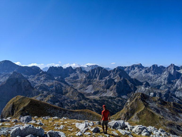 Maja e Rosit Rosni Vrh Albania Montenegro view