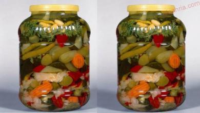 صورة مخلل الخضروات ( الطرشي )