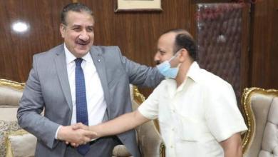 صورة في لفتة طيبة محافظ المنوفية يستقبل صاحب واقعة قطار منوف