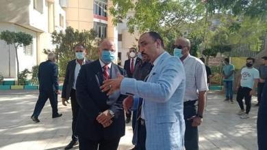 صورة محافظ القاهرة يزور دار الهنا لرعاية الأيتام لتقديم التهنئة بعيد الأضحى