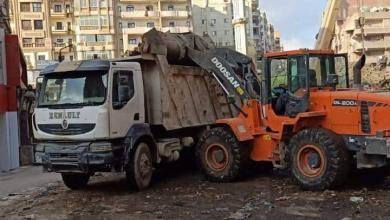 صورة متابعة أعمال النظافة بحى شرق وتكثيف أعمال رفع المخلفات خلال  أيام عيد الأضحى
