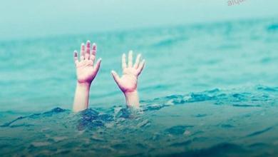 صورة شجاعة شباب طنطا وإنقاذ شاب من الغرق بمياه المرشحة.