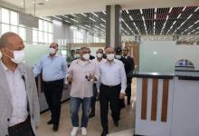 صورة وزير الطيران المدني في زيارة تفقدية لمطار العلمين الدولى