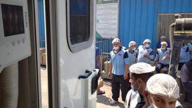صورة الصحة قوافل طبية لمصانع القليوبية و ١٧٠٠ مواطن يخضع للكشف المبكر عن الدرن