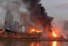صورة نانسي عجرم و هيفاء وهبي و إليسا وأحياء ذكرى انفجار مرفأ بيروت