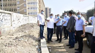 صورة محافظ الغربية ونواب المحلة الكبرى يتفقدون أماكن مقترحة لتطوير المدينة.