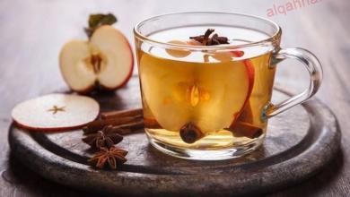 صورة الشاي بنكهة التفّاح والقرفة