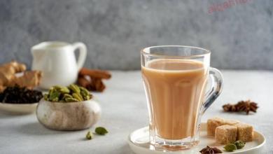 صورة شاي حليب على الطريقة السعودية