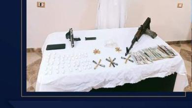 صورة ضبط عنصر إجرامى هارب من تنفيذ حكم بالسجن المؤبد