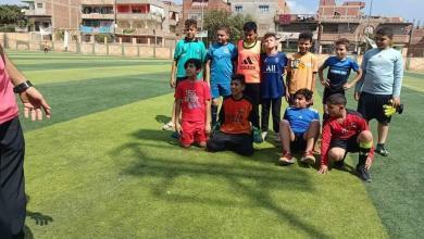 صورة الدور التمهيدي لدورى الاكاديميات لكرة القدم علي مستوي ادارة كفر شكر