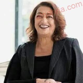 صورة زها حديد واعمالها البارزة في مجال العمارة