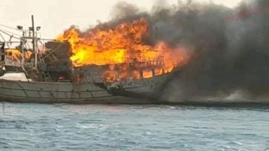 صورة عاجل حريق هائل بميناء السويس