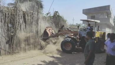 صورة محافظ القليوبية يتابع أعمال تنفيذ الموجة 18 لإزالة التعديات على الأرض الزراعية وأملاك الدولة