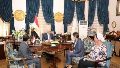 صورة وزير التربية والتعليم يستقبل المُنسقة المقيمة للأمم المتحدة في مصر لبحث مجالات التعاون المشتركة