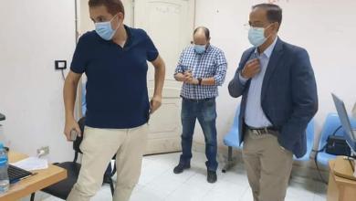 صورة جولة تفقدية لوكيل وزارة الصحة بالقليوبية لمراكز تطعيم اللقاح بالمحافظة
