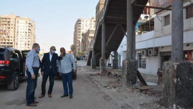 صورة الهجان  يتابع أعمال النظافة ورفع الإشغالات بحي شرق وحي غرب شبرا الخيمة