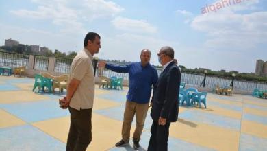 صورة محافظ القليوبية يتابع أعمال المرحلة الثانية من ممشى النيل بمدينة بنها