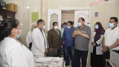 صورة محافظ أسيوط يتفقد مستشفى أبنوب المركزي تمهيدًا لاحلالها وتجديدها
