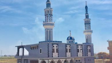 صورة افتتاح مسجد الرحمة بقرية حلمي بدر بمركز تمي الامديد بالدقهلية