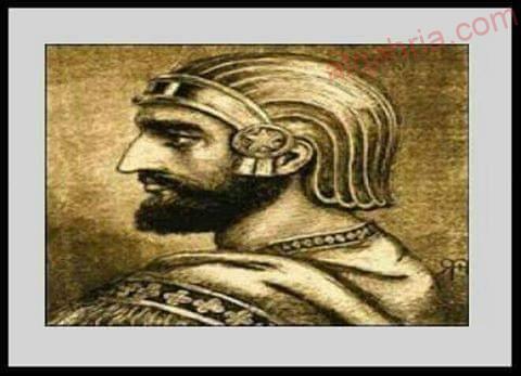 صورة الملك الذى اتخذ من القطط خط دفاعه الاول غزو قمبيز لمصر