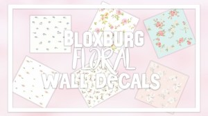 bloxburg aesthetic decal floral codes roblox ids wallpapers living lv agustinmunoz flamingo