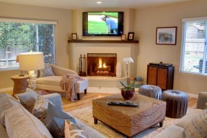 8 Photos Living Room With Corner Fireplace And Tv ...