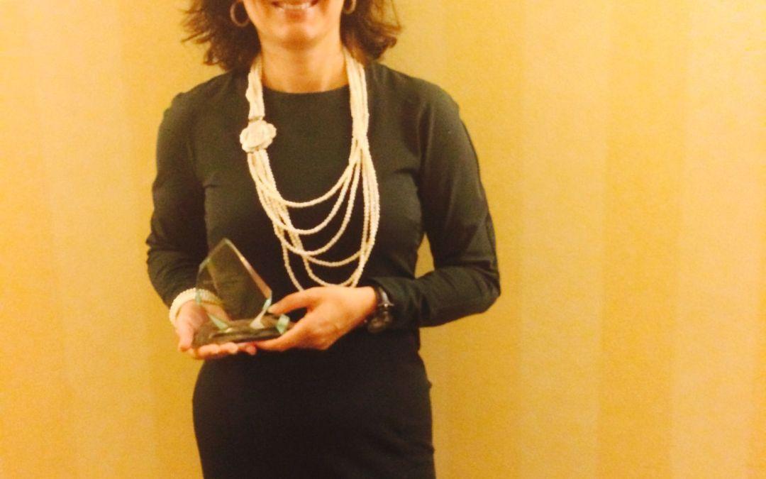 Premio Internacional Mentoring EMCC 2016 a Maria Luisa de Miguel Corrales