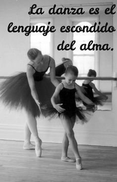 La danza es el lenguaje escondido del alma