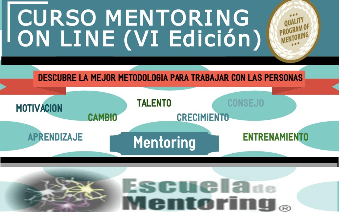 VI Edición Curso Online de Iniciación al Mentoring