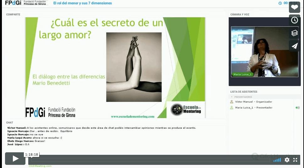 """Video de la Conferencia """"Las 7 Dimensiones del Rol de Mentor"""""""