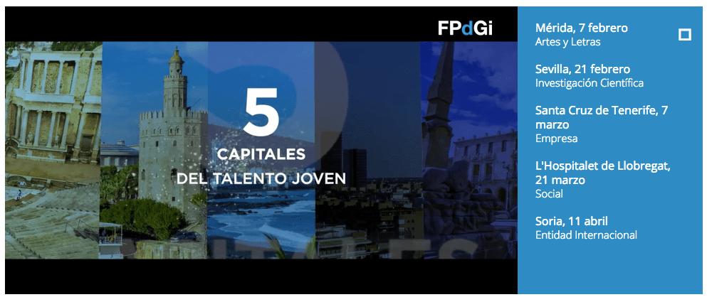 """21 Febrero en Sevilla Jornada Dinamización """"Imagina el futuro con todo tu talento"""" con la FPdGi"""