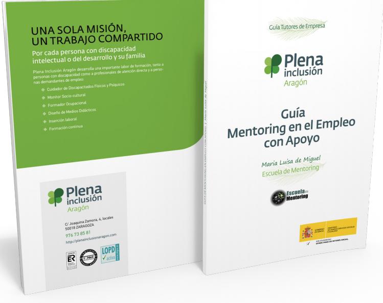 Publicada la Guía sobre Mentoring en el Empleo con Apoyo que he escrito para Plena Inclusión Aragón
