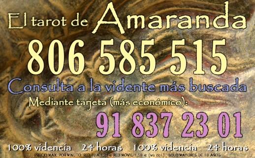 Banner anuncio Tarot Amaranda