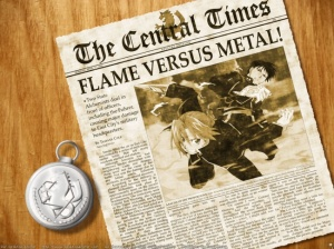 Fullmetal Alchemist en México por Animax…