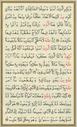 Surah Al Baqarah Ayat 30 : surah, baqarah, Tafsir, Jalalain, Surah, Al-Baqarah, 25-29, Alqur'anmulia