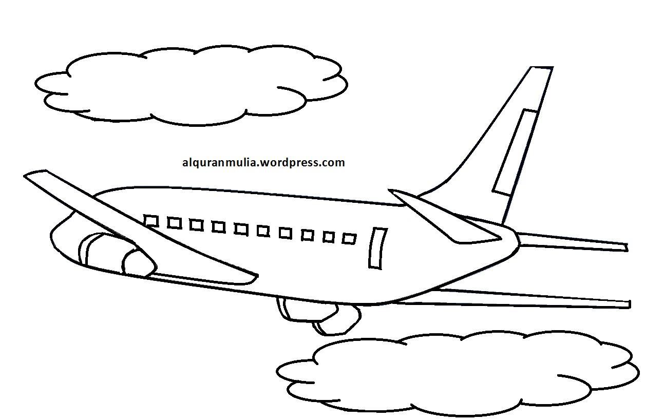 Made By Cup Tea Lomba Mewarnai Gambar Pesawat