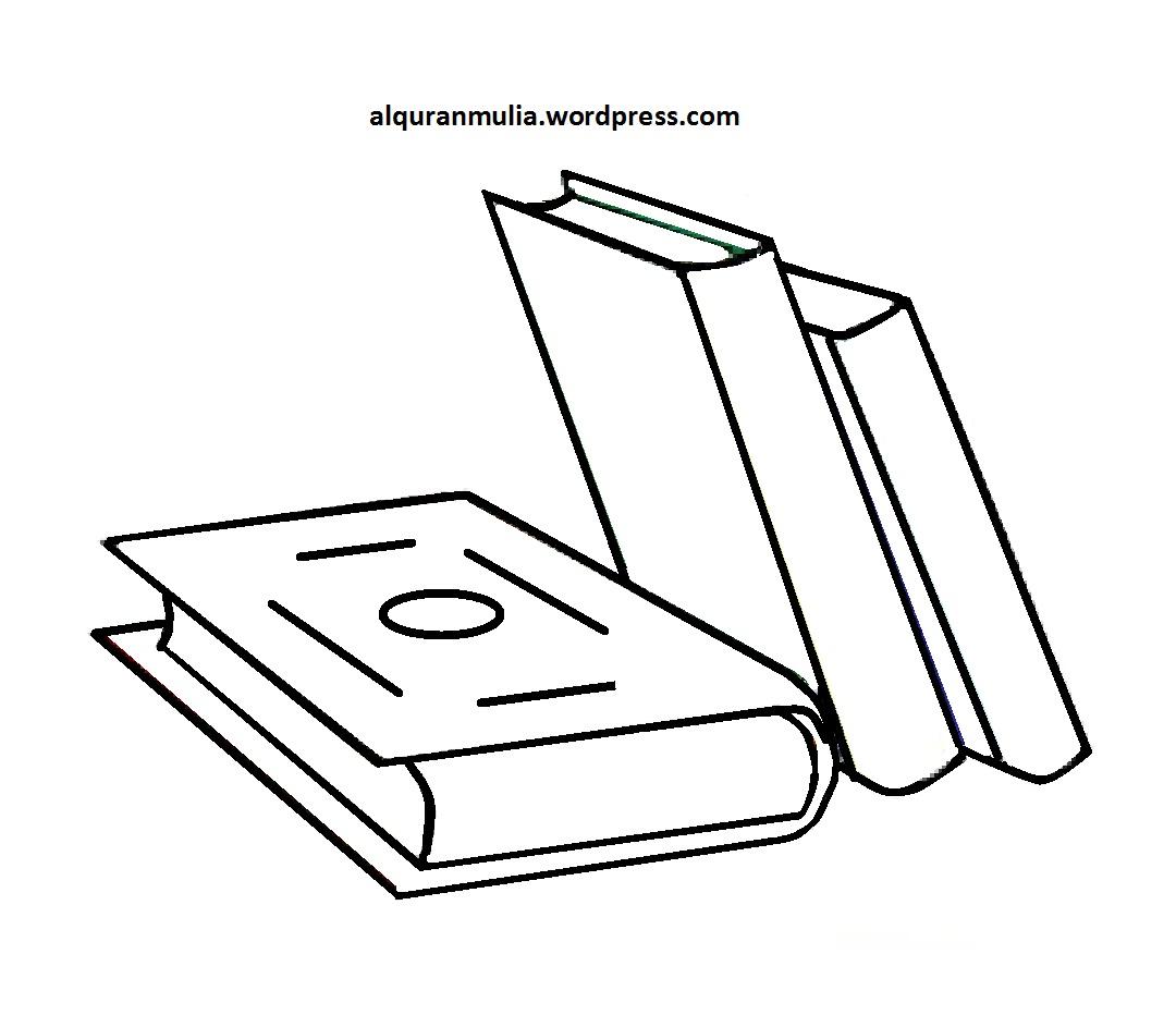 Gambar Gambar Mewarnai Peralatan Sekolah Anak Buku di Rebanas Rebanas
